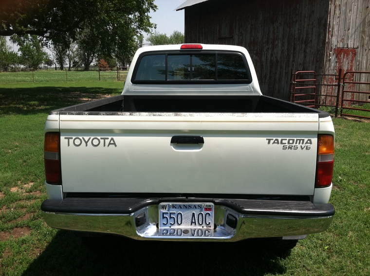 1998 Toyota Tacoma 4X4 for sale V6 Auto - Vargy's Coyote ...