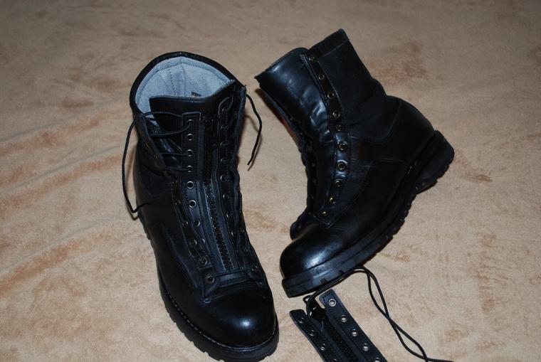 Danner Boot Zippers
