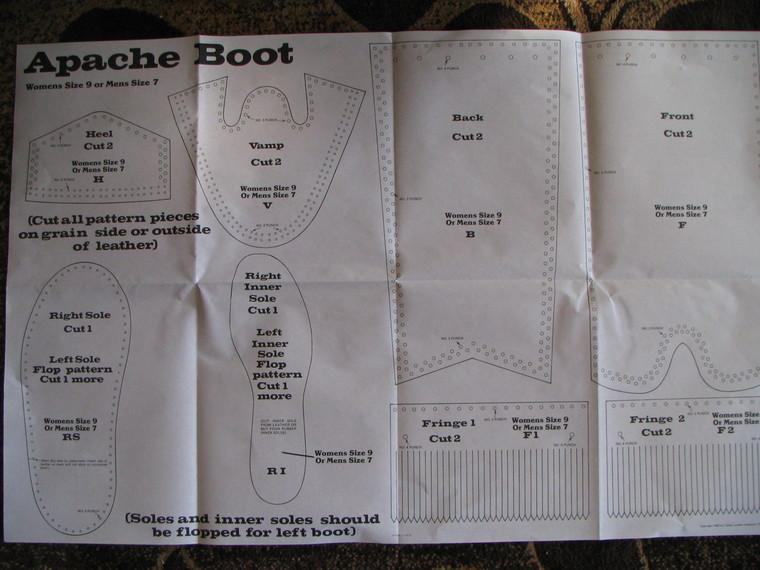 Apache Boot Pattern Paleoplanet