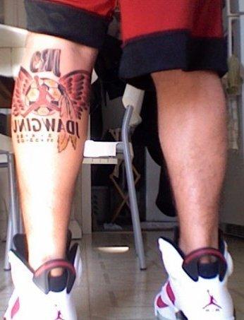 jordan logo tattoo. Jordan / JDawginu tattoo