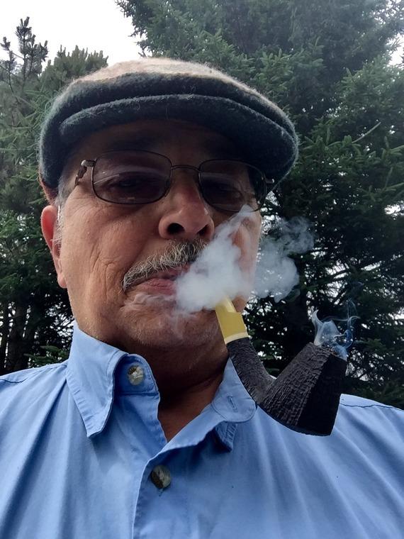 Having a great smoke. 38915b465ce72edd808091af89100cff65c029c