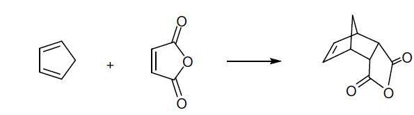 diels alder reaction synthesis of cis norbornene 5 6 endo dicaroboxylic anhydride Diels-alder reaction: preparation of cis-norbornene-5,6-endo-dicarboxylic  anhydride(university of colorado, boulder, dept of chem and biochem).