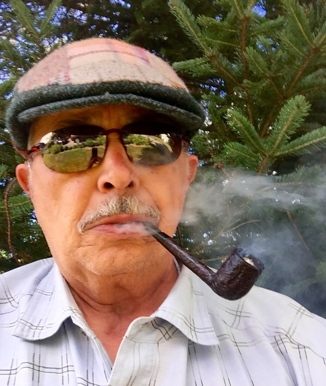 Enjoying one of my special Dunhill pipes  5c81574458e626d394f692b48410b24245b9961