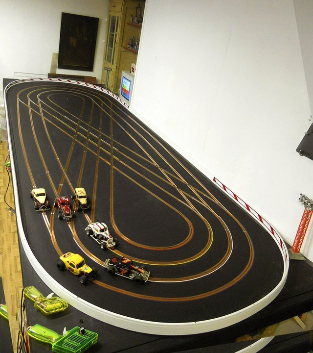 Oval Figure 8 Islip Speedway Slot Car Illustrated Forum