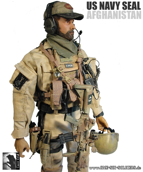 "Souvent US NAVY SEAL in Afghanistan"" QX04"