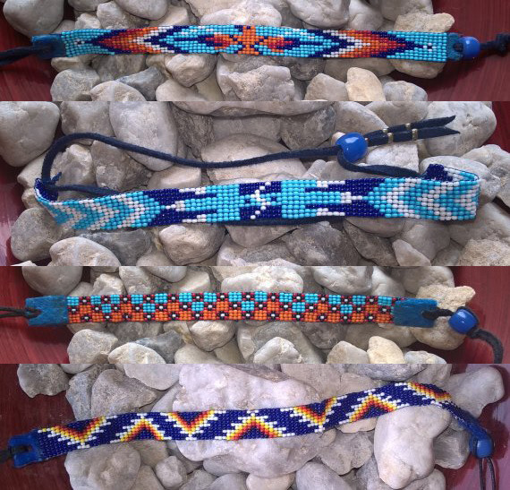 Banner Image: Bracelets made by Ilahyeh Atlatl
