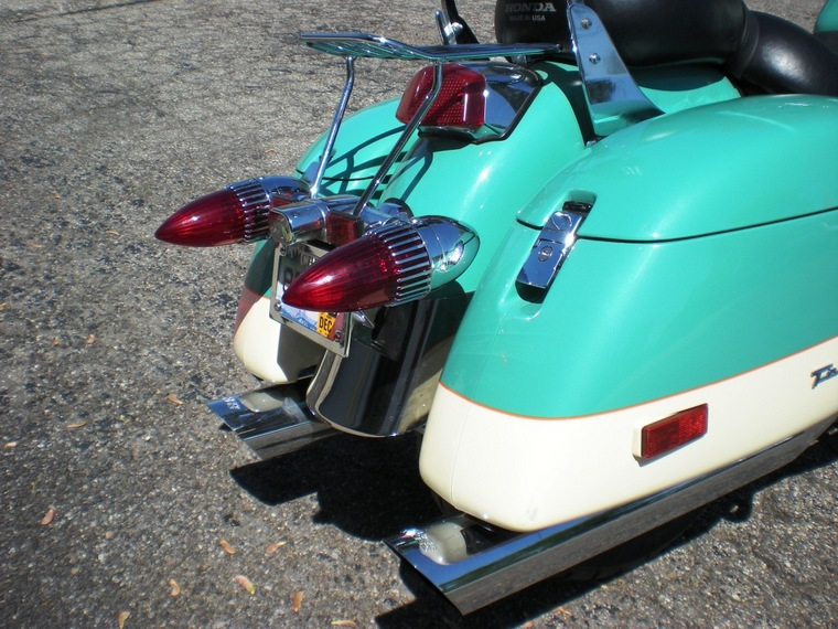 New '59 Caddy Taillights - Honda Shadow ACE Tourer Forum