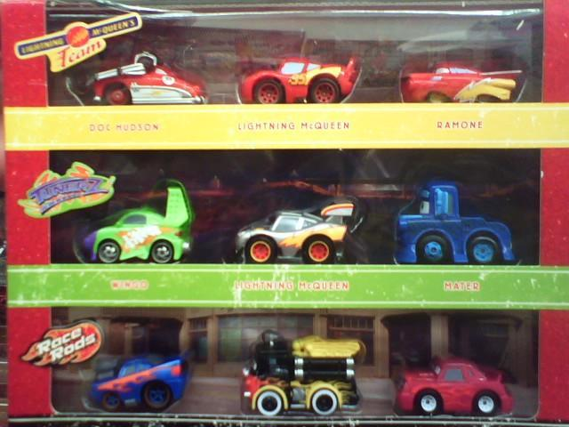 Mini check list by genre updated 5 09 09 disney pixar for Sarge automobiles garage serus