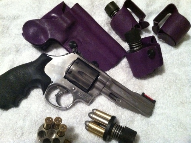 A 686 SSR And Master Tac Holster Pouches With Jet Speed Loaders Loading Block Bullets Of My Own Making