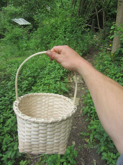 Banner Image: Ash basket made by Peat