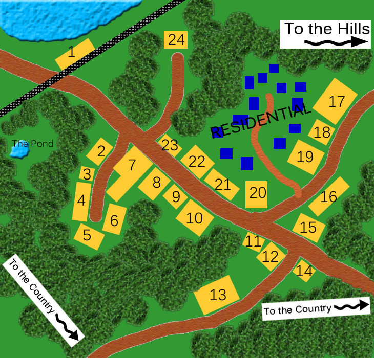 Map Of Hogsmeade