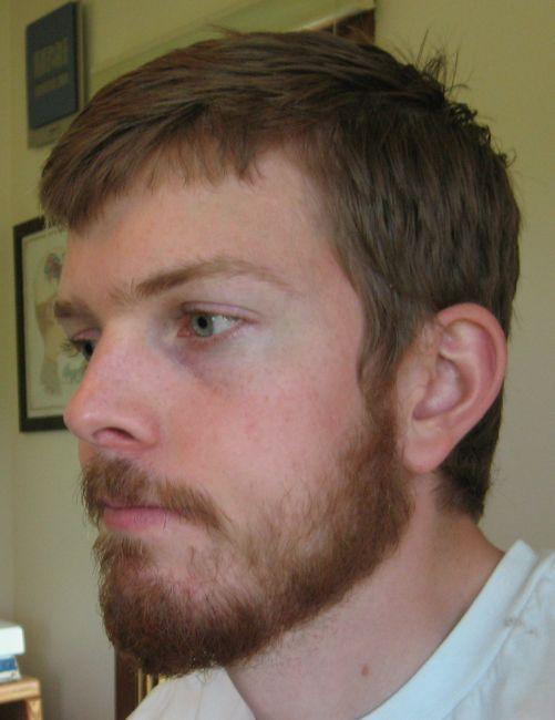 beard shaved Full