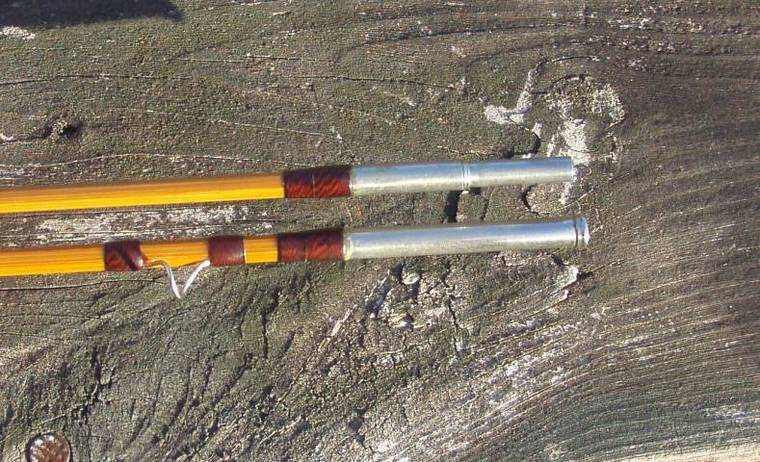 The classic fly rod forum nicest looking ferrules for Fishing rod ferrules