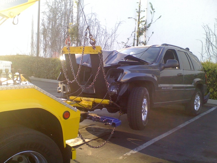 4x4 Sling No Dollies In Light Duty Towing By Towcareers