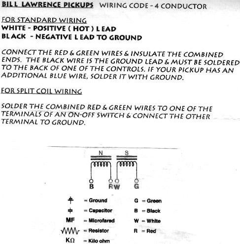 [FPWZ_2684]  L90 problem - Fender Info-Base™ (FIB™) | Bill Lawrence Wiring Diagrams |  | Tapatalk
