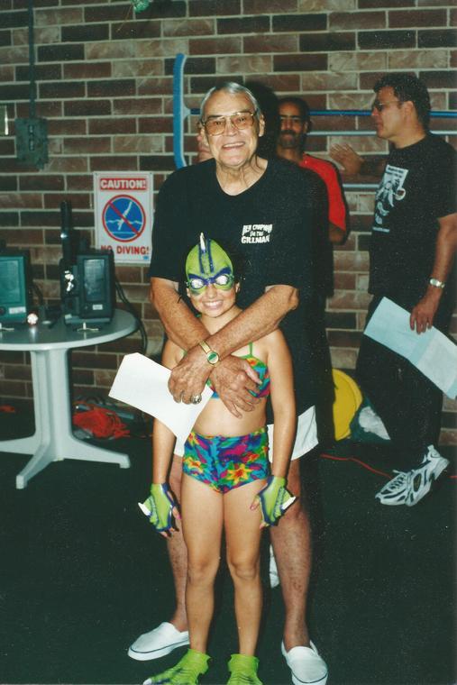 Briana with Ben Chapman Monster Bash 2002.jpg
