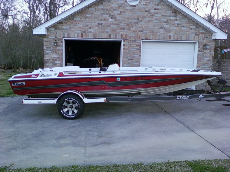 96 pantera ii restore bass cat boats for Instinct bass boat