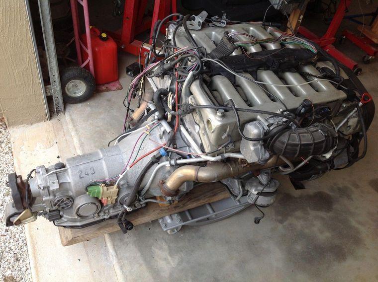 Mercedes m120 v12 weight for Mercedes benz v12 engine