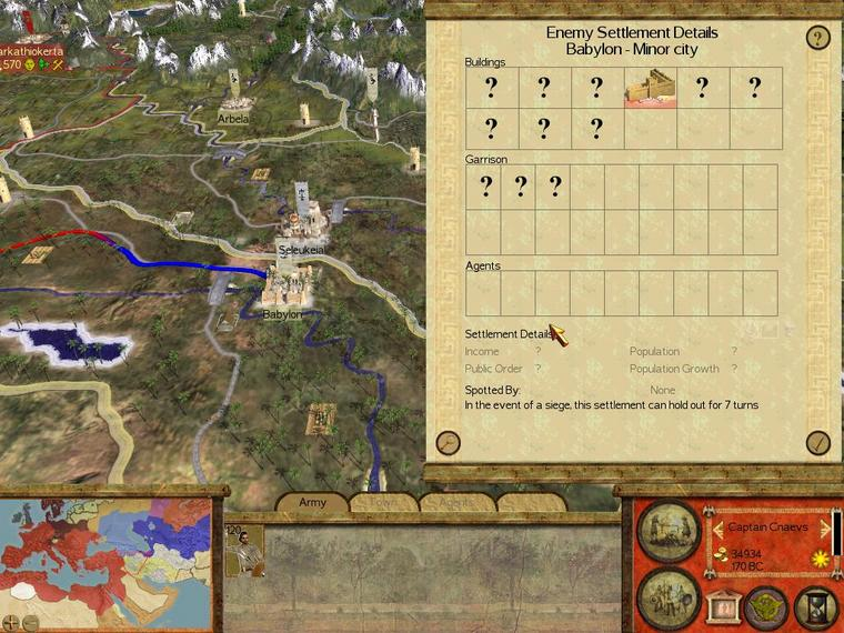 Babylon In Rome Total War Forum - Rome total war map city locations