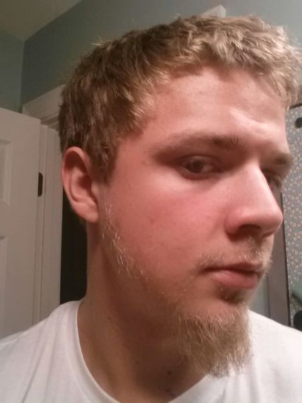 First facial hair