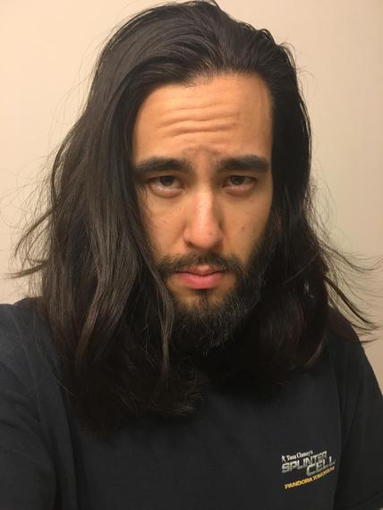 how to grow beard asian