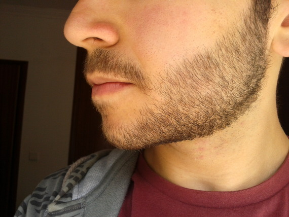 No facial hair for six weeks <3  want