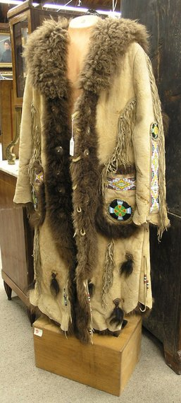Half Jacket 2 0 >> Buffalo Hide coat - PaleoPlanet