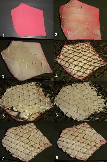 Liquid latex fabric