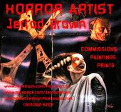 HORROR ARTIST Jerrod Brown