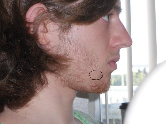 Seems excellent First facial hair good