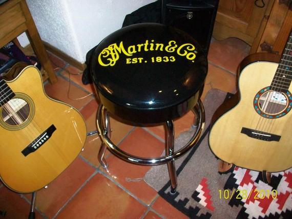 Image & Martin Guitar Bar Stool-Discontinued Collectors Item! - The ... islam-shia.org
