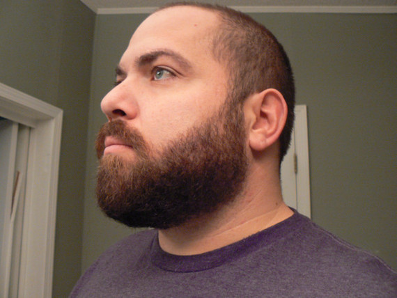 First Shave Front Side