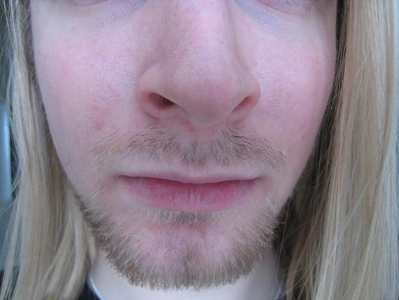 how to grow dark beard
