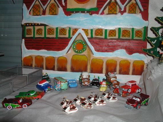 Mater saves Christmas - Disney Pixar Cars - The Toys