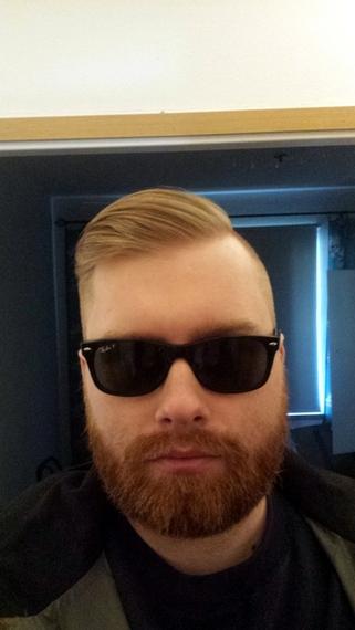 Pin by David Wells on BEARD!   Mens sunglasses, Rayban wayfarer, Sunglasses
