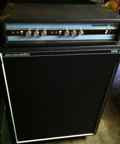 Acoustic 150B amp and 106 cabinet - Los Angeles - unofficial ...