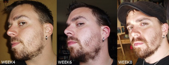 how to make face look thinner with beard