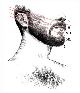 how far do your cheek and neckline grow   coverage index
