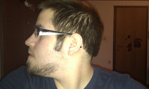 extended goatee