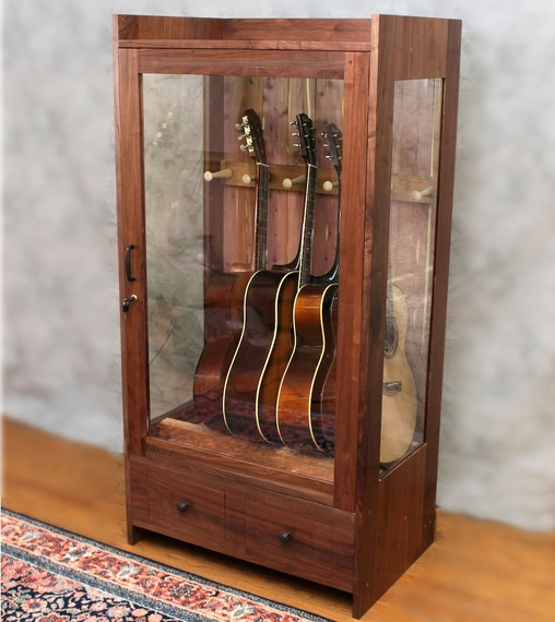 We Build Humidified And Dehumidified Display Cabinets For Guitars,  Mandolins, And Other Stringed Instruments. Theyu0027re Handmade From Solid  Hardwood, ...