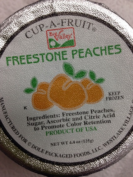 how to tell if a peach is freestone