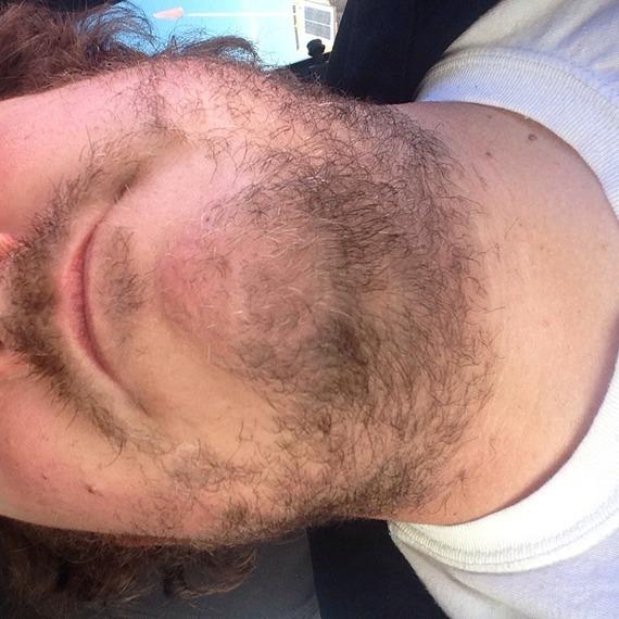 The First facial hair