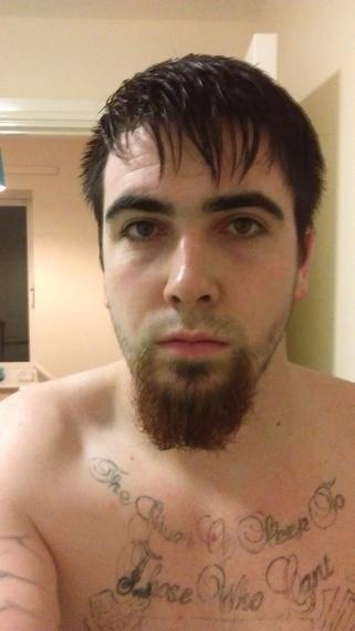 how to get beard to grow down