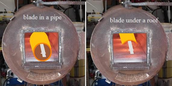 New Heat treating forge for long blades