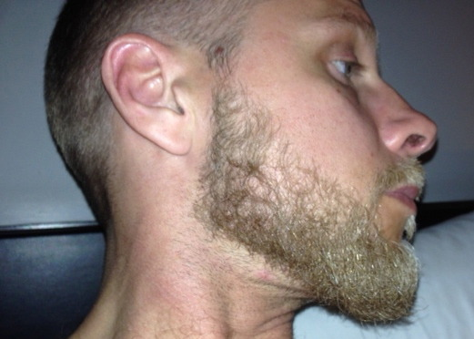 how to ask for a line up beard
