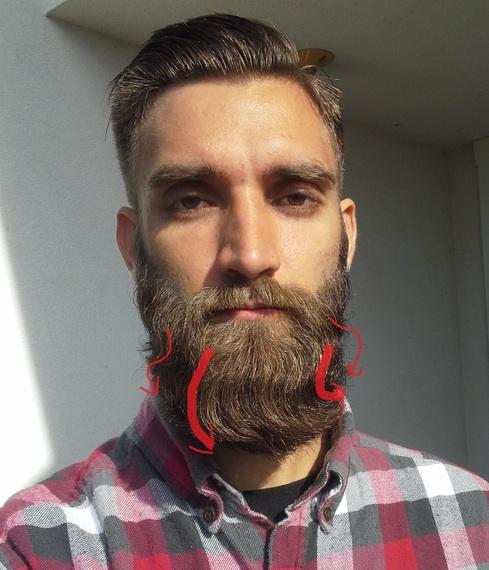 Wavy Beard The Journey Beard Board