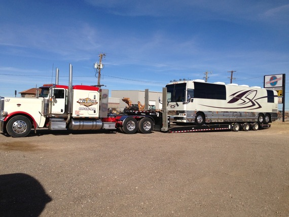 Prevost Motorhome In Carrier Towing By Forum