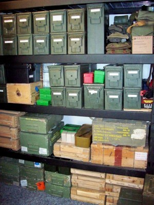 Update the ammo stockpile is coming along fine and now i have run out
