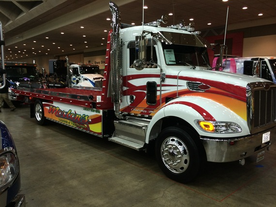 Anybody have pics of baltimore tow show tow411 for Matheny motors wrecker sales