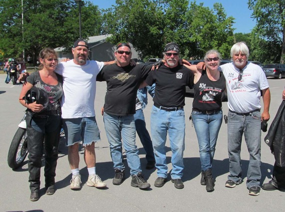 Ralston alumni poker run
